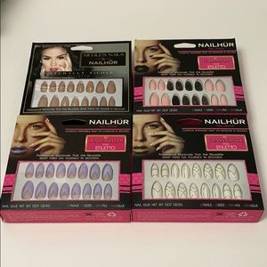 Other - False nails lot of four sets Brand new!!